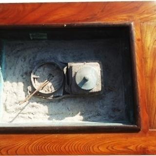 木火鉢 暖炉  囲炉裏