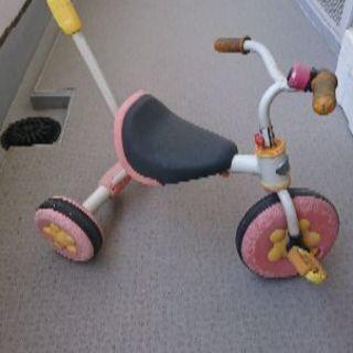 子ども用の三輪車