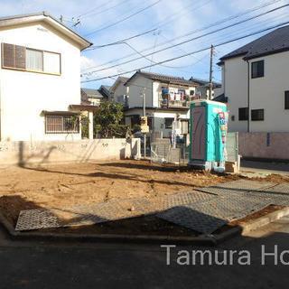 【新築戸建て】3LDK  駐車場2台 3方向角地 仲介手数料無料!