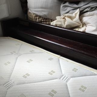 寝心地の良いベッドです
