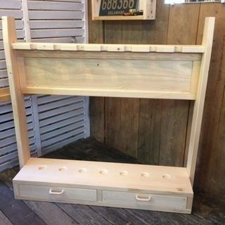 木製ロッドスタンド♫
