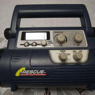 再再々値下げ品 防災用ラジオ付き照明ランプ