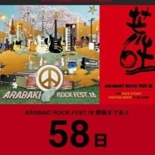 ARABAKI ROCK FEST. 1日入場券4/28