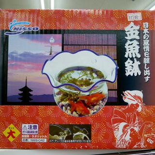 金魚鉢(大) 新品 マルカンNISSO 3.2ℓ 札幌市 宮の沢