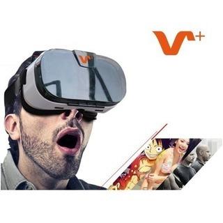 ☆手持ちのスマホでVR体験!☆3D VRゴーグル+ワイヤレスリモ...
