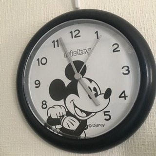 【Disney】ミッキー 掛け時計