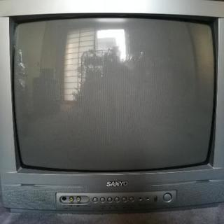 【無料】Sanyo 2002年製 ブラウン管テレビ C-20D1...