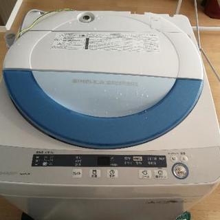 シャープ 洗濯機 ES-GE55P-A 2015年10月より使用