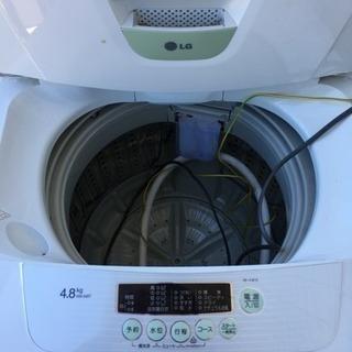 洗濯機 LG 4.8K
