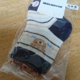 新品★ミキハウス男の子靴下