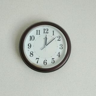 壁掛け時計(SEIKO電波時計)