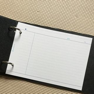 【新品】バインダー&ルーズリーフ セット 50枚 厚口 マルマン