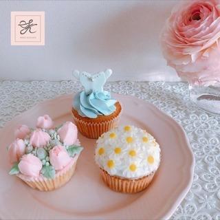【募集】3月カップケーキ1dayレッスン♡