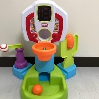 ベビー用おもちゃ 知育玩具 リトルチャンプス スポーツセンター バスケ