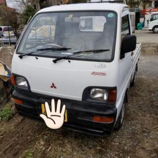 三菱キャブオーバー車検がわずか‼4WD