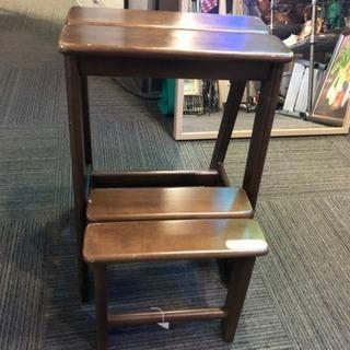 木製ステップ台 折りたためます