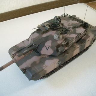 リモコン戦車M12エイブラムス(砂漠迷彩仕様)