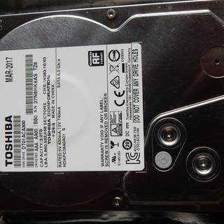 内蔵ハードディスク 3TB 東芝  DT0ACA300  201...