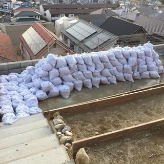 【3月中限定】土嚢約200袋【謝礼あり】