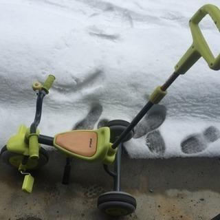 子供時代の三輪車