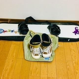 スノーボード スノーボードブーツ セット