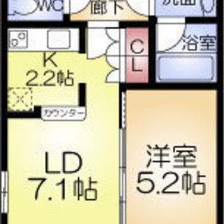 ドーム前千代崎駅/徒歩2分!!!1LDKで73,000円は魅力的☆