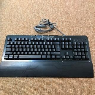 パソコン メカニカルキーボード 青軸