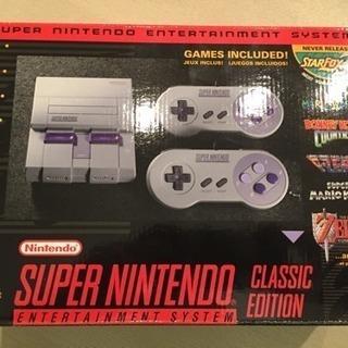 ★ 北米版 Super Nintendo Classic Edit...