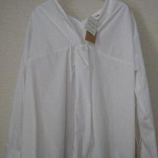 【新品タグ付き】OZOC スキッパーシャツ