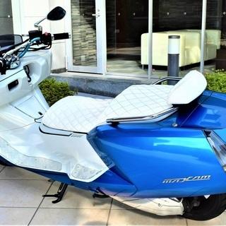 【実走10380km】YAMAHA MAXAM custom Blue×white Black Wheel 自賠付 低走行 個人 極上 保管 希少 女性【綺麗な青】 値下げ - 長岡市