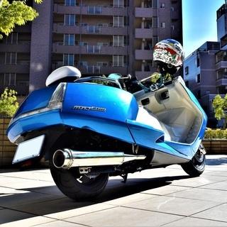 【実走10380km】YAMAHA MAXAM custom Blue×white Black Wheel 自賠付 低走行 個人 極上 保管 希少 女性【綺麗な青】 値下げ − 新潟県