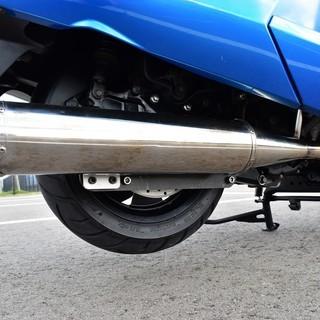 【実走10380km】YAMAHA MAXAM custom Blue×white Black Wheel 自賠付 低走行 個人 極上 保管 希少 女性【綺麗な青】 値下げ - 売ります・あげます