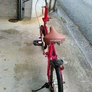 キャプテンスタッグ折り畳み自転車