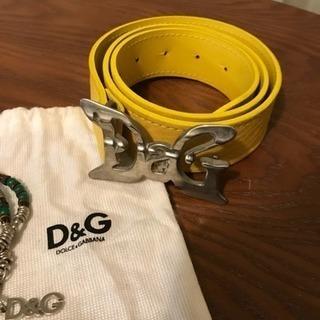 美品 D&G ベルトのみ - 服/ファッション
