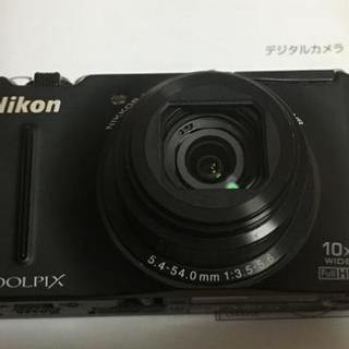 【ジャンク】Nikon COOLPIX S8100