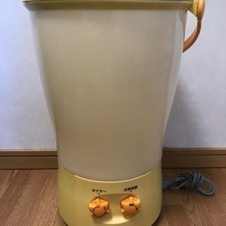 美品 National ナショナル 電気バケツ 小型洗濯機