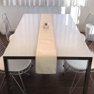 【未使用】テーブルランナー 20cm × 180cm (国産PVC...