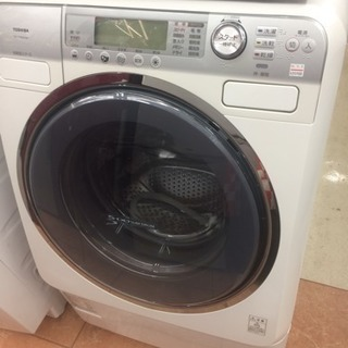 TOSHIBA 6.5㎏/4.0㎏ドラム式洗濯機の画像