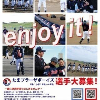 たまプラーザボーイズ 硬式少年野球部員募集!!