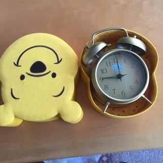 値下げしました!めざまし時計 美品