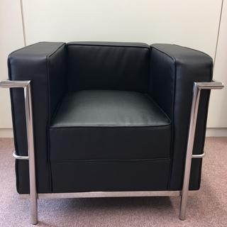 ル・コルビジェ LC2 リプロダクト品 1掛け ソファ オフィス 店舗