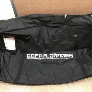 ドッペルギャンガー DCB287-BK キャスター付き大型輪行バッグ
