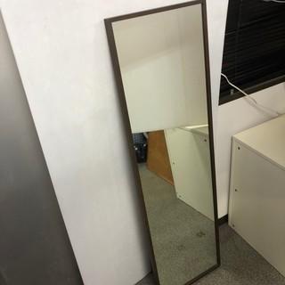 ▼無印良品 木製 スタンド付き 全身鏡 姿見 オシャレ家具 定価...
