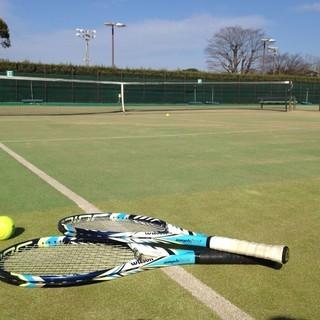4月29日久留米城島テニスコートにてだれでも参加できるテニスの試合...