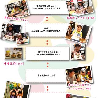 【子どもの食育体験】さくらスクール「第10回わくわくの森」飾り巻き寿司体験 - 教室・スクール
