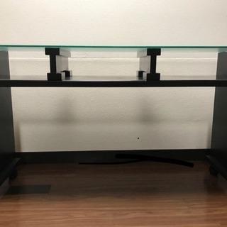 ネイルテーブル ガラス天板 ネイルデスク