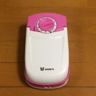 【美品】WOpets 犬猫用自動給餌器(1食分) 乾電池・保冷剤付き