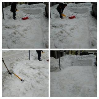 除雪 雪降ろし 承っております。 札幌市 便利屋タクミ