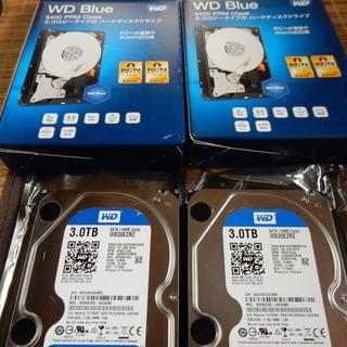 内蔵ハードディスク 3TB WDC WD30EZR 2個まとめて