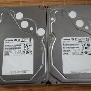 内蔵ハードディスク 3TB TOSHIBA MD04ACA300 1個